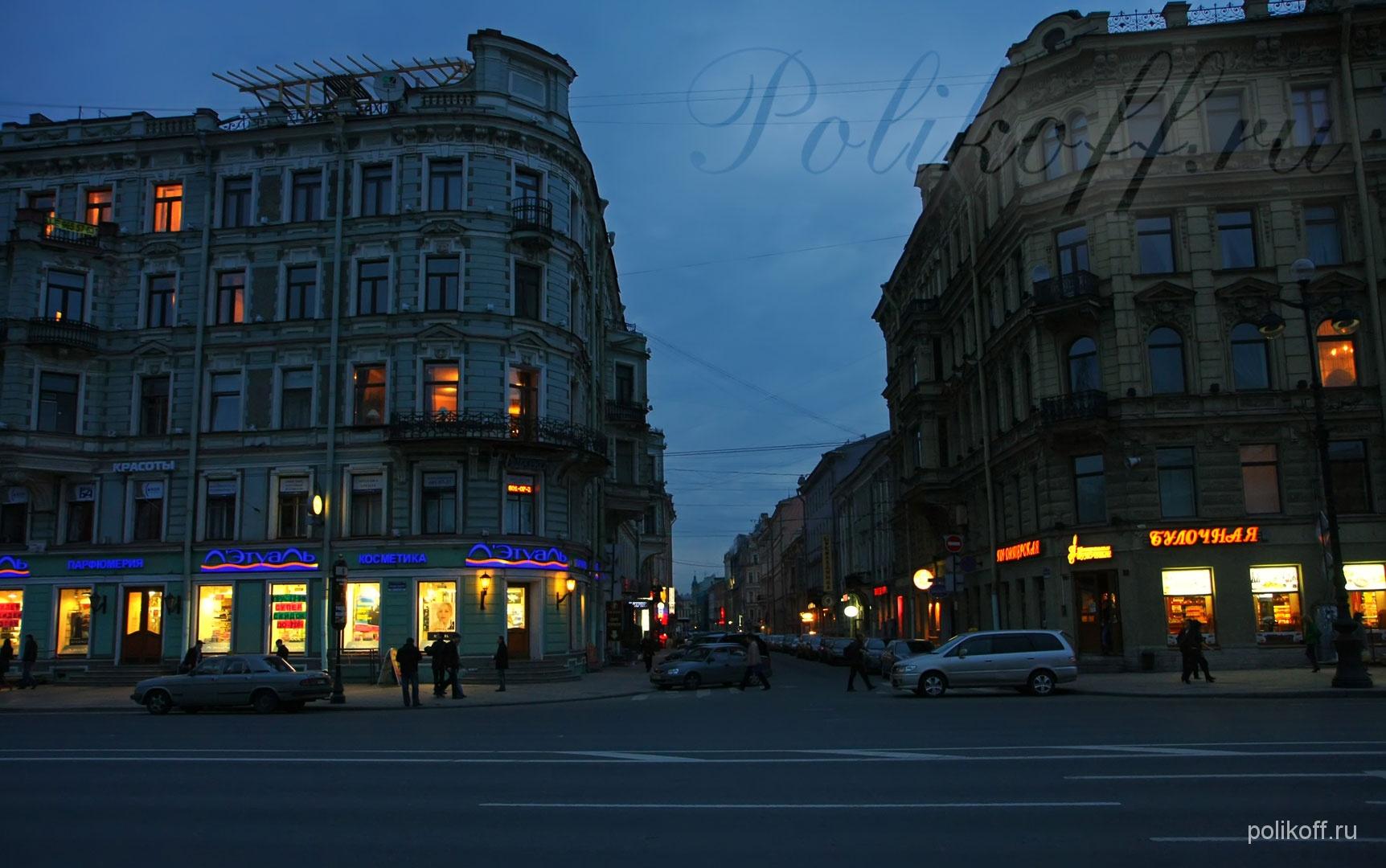 Мини отели в центре Питера
